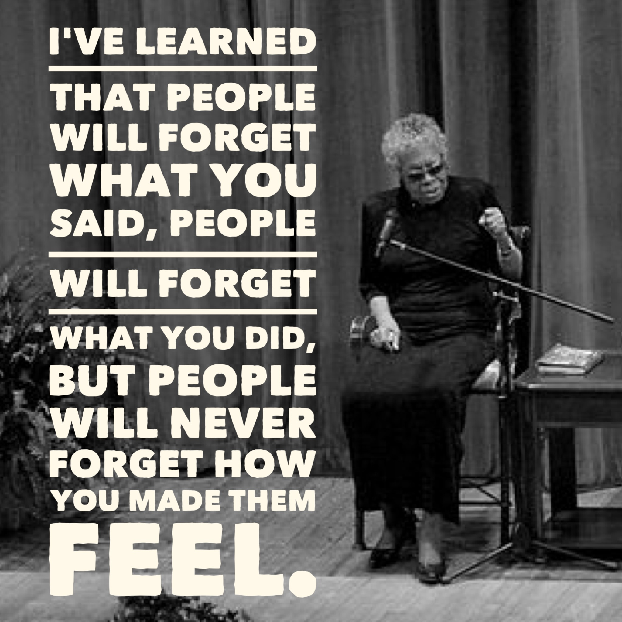 Maya Angelou Quote People Will For Get: Maya Angelou Quotes: 10 Profound Sayings And Poems